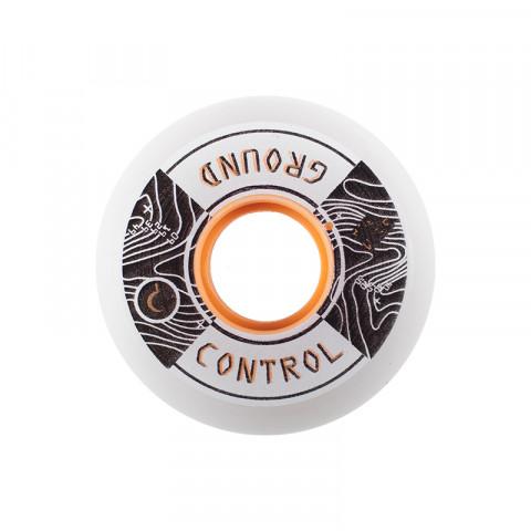 Wheels - Ground Control - Elevation White/Orange - 59mm/90a - Photo 1