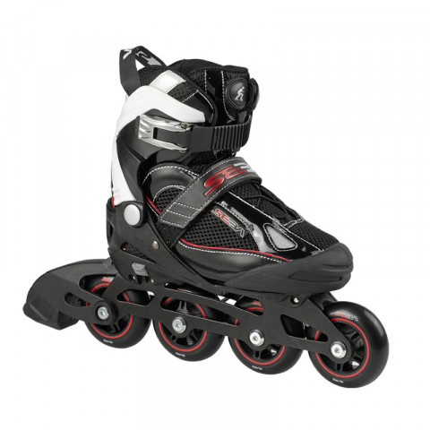 Skates - Seba - GT Junior - Black Inline Skates - Photo 1