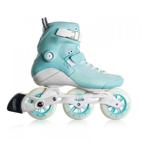 Skates - Powerslide - Swell Blue Moon 100 - Ex-Display Inline Skates - Photo 1