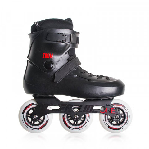 Skates - Powerslide - One Zoom Black 100 - Ex-Display Inline Skates - Photo 1