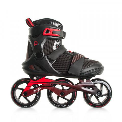 Skates - Playlife - GT 110 - Black - Ex-Display Inline Skates - Photo 1