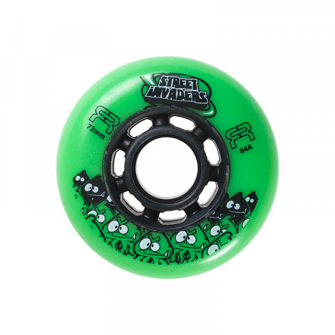 Wheels - FR - Street Invaders 72mm/84a - Green - Photo 1