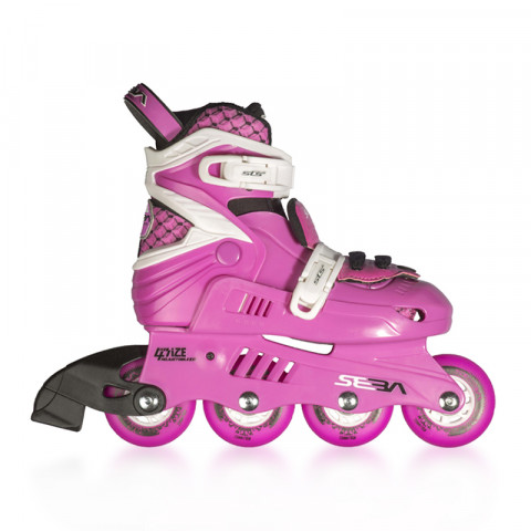 Skates - Seba - Junior - Pink/White Inline Skates - Photo 1