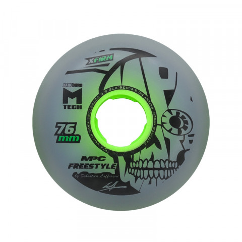 Wheels - MPC - Freestyle 76mm X-Firm - Dual Natural (1 pcs.) - Photo 1