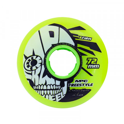 Wheels - MPC - Freestyle 72mm X-Firm - Yellow (1 pcs.) - Photo 1