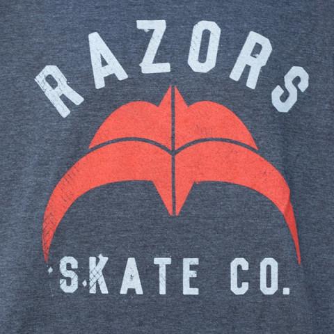 Razors - Skate Co 2 T-Shirt - Black/Red