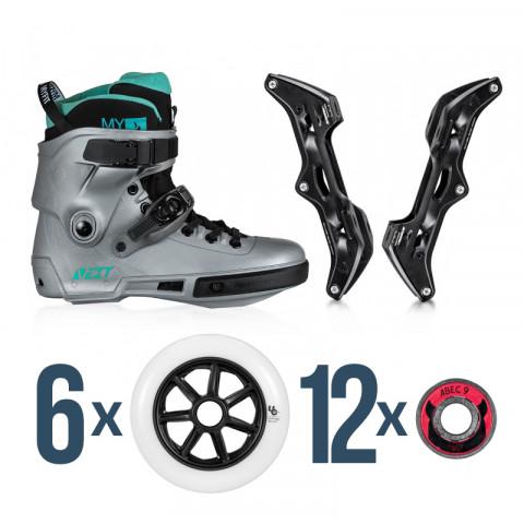 Skates - Powerslide - Next Arctic - Elite Casted/Undercover Custom Inline Skates - Photo 1
