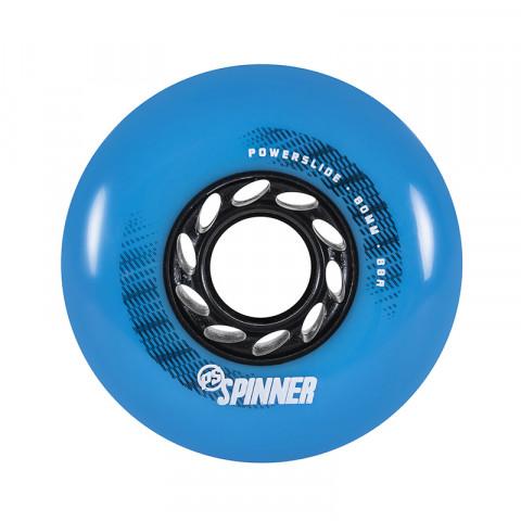 Wheels - Powerslide - Spinner 80mm/88a Bullet Profile - Niebieskie (4 szt.) - Photo 1