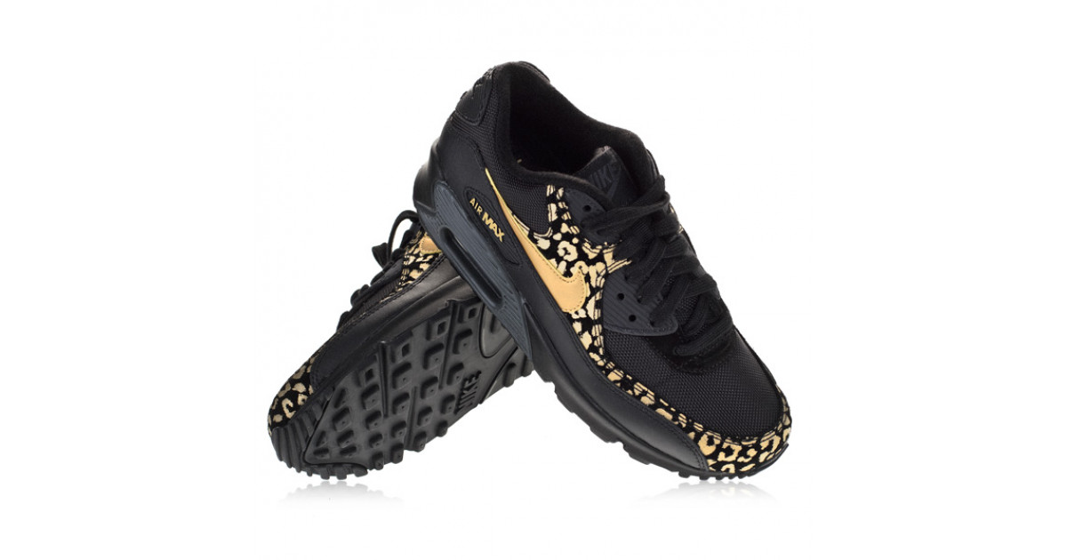Nike Air Max 90 WMNS BlackPanterGold