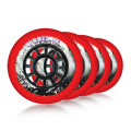 Powerslide - Hurricane 80mm/85a - Red (4 pcs.)