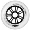 Powerslide - Spinner 110mm/85a Full Profile - White(1 pcs.)