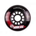 Powerslide - Hurricane 80mm/86a - Czarno/Czerwone (1 szt.)