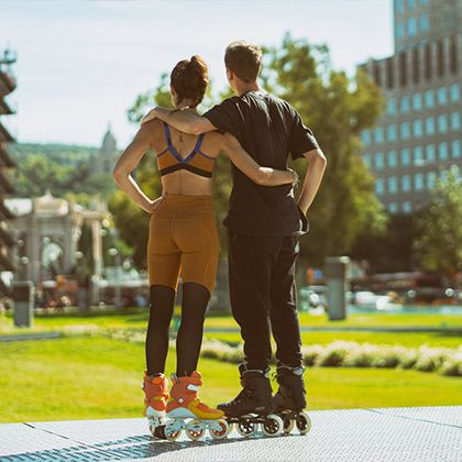 Skates for her and him
